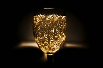 What does champagne and a change in career have in common?